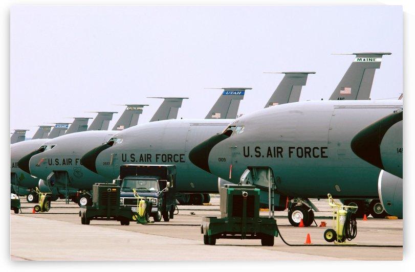 KC-135 Stratotankers by StocktrekImages