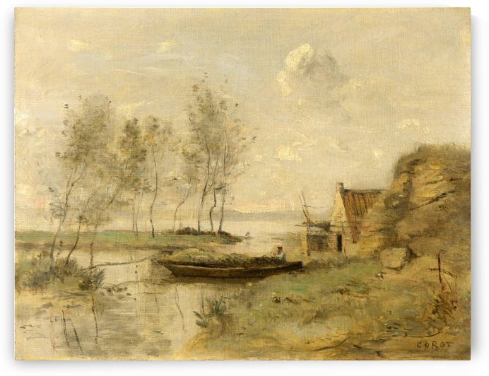 Souvenir of Palluel by Jean-Baptiste-Camille Corot