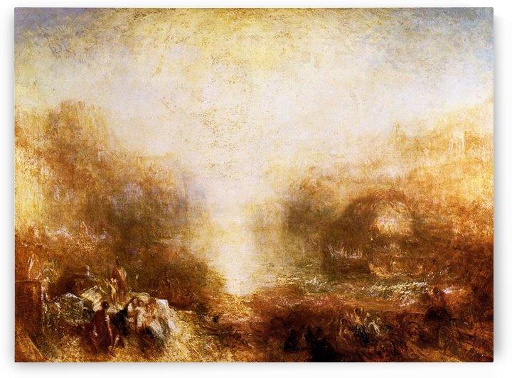 Mercury sent to admonish Aeneas by Joseph Mallord Turner by Joseph Mallord Turner