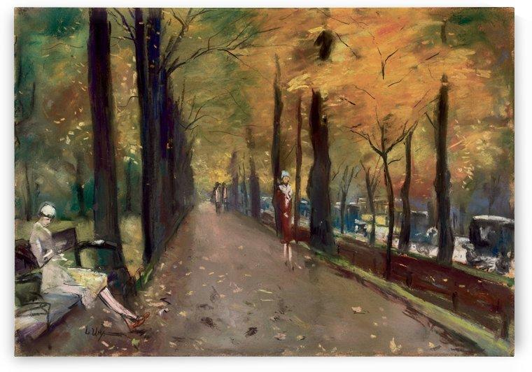 Tiergarten, Berlin by Lesser Ury
