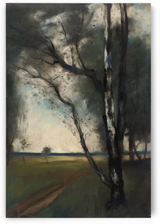 Birch Grove by Lesser Ury