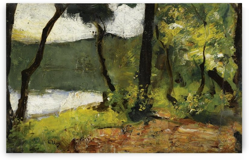 Lake in Mark Brandenburg by Lesser Ury