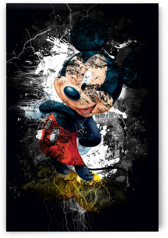 Famous Mickey Mouse by Zac Zerate