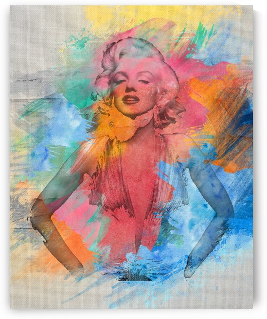 Amazing Marilyn Monroe by Zac Zerate