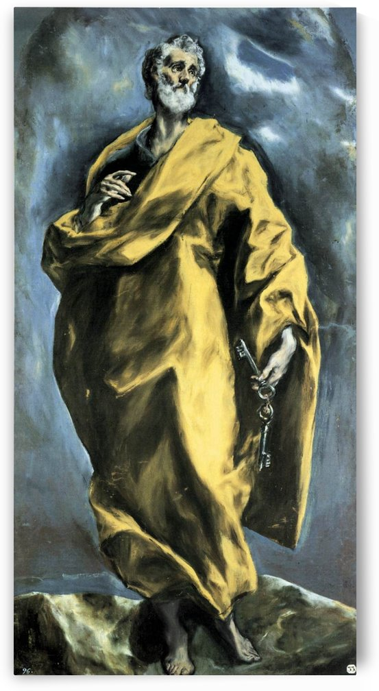 Saint Peter by Lorenzo Costa