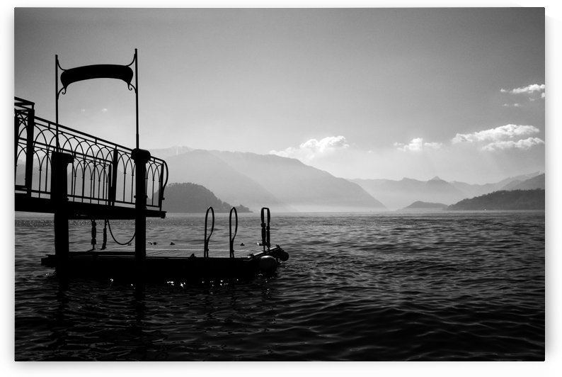 Dockside at Bellagio by Trish Hamilton