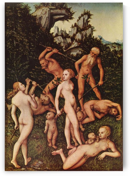 The Close of the Silver Age by Lucas Cranach the Elder