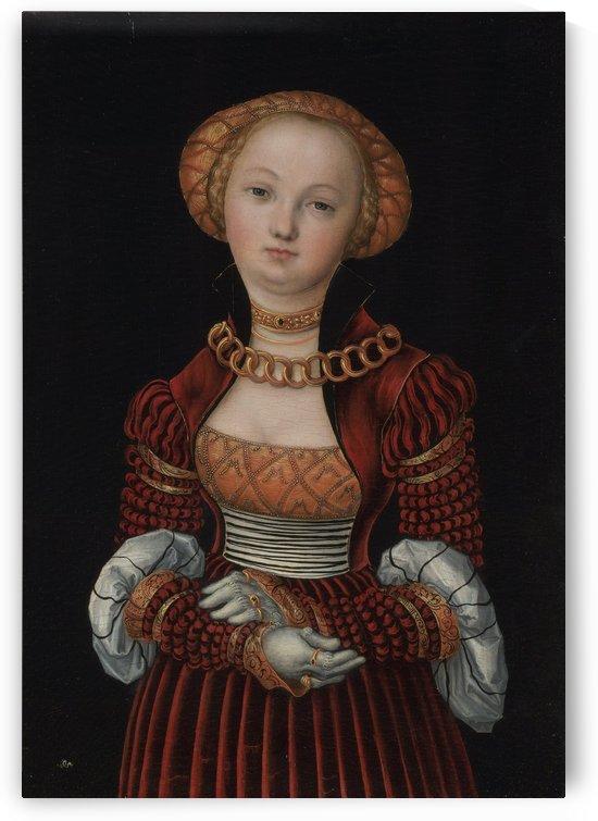 Portrait of a Woman by Lucas Cranach the Elder