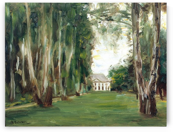 The Garden to the West of Wannsee by Max Liebermann