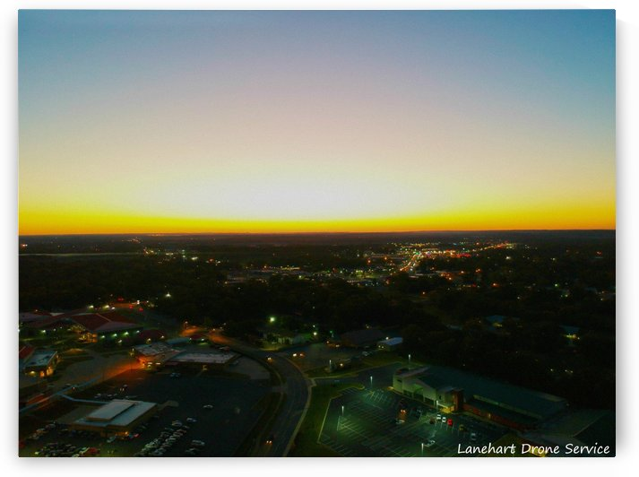 Cabot Arkansas Sunset by Lanehart Drone Service