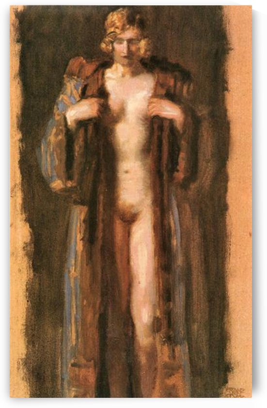 Monna Vanna by Franz von Stuck by Franz von Stuck