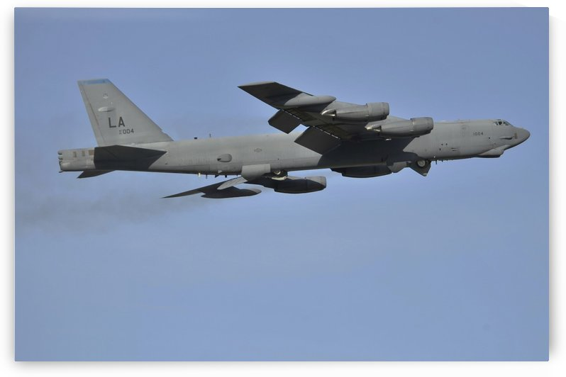A B-52H Stratofortress by StocktrekImages