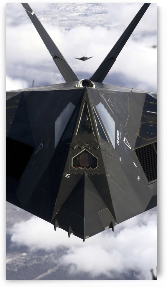 The F-117A Nighthawk. by StocktrekImages