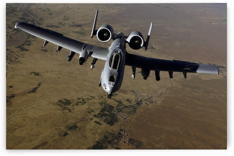 U.S. Air Force A-10 Thunderbolt by StocktrekImages