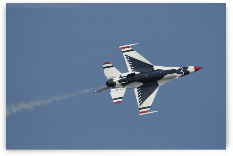 The U.S. Air Force Thunderbirds perform during the 2009 air show. by StocktrekImages