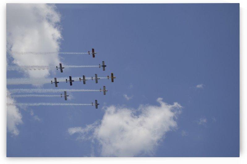 Team RV aerobatics team. by StocktrekImages