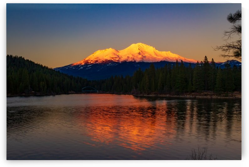 Mt Shasta Sunset by JyoScapes