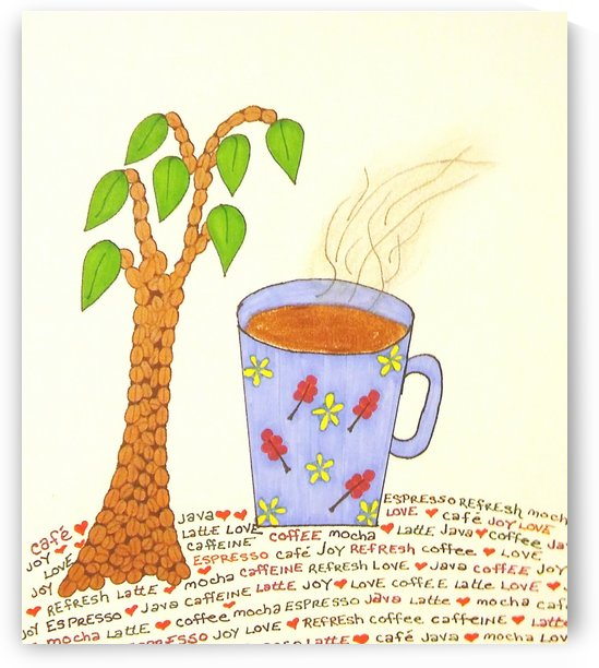 Love of Coffee by SarahJo Hawes
