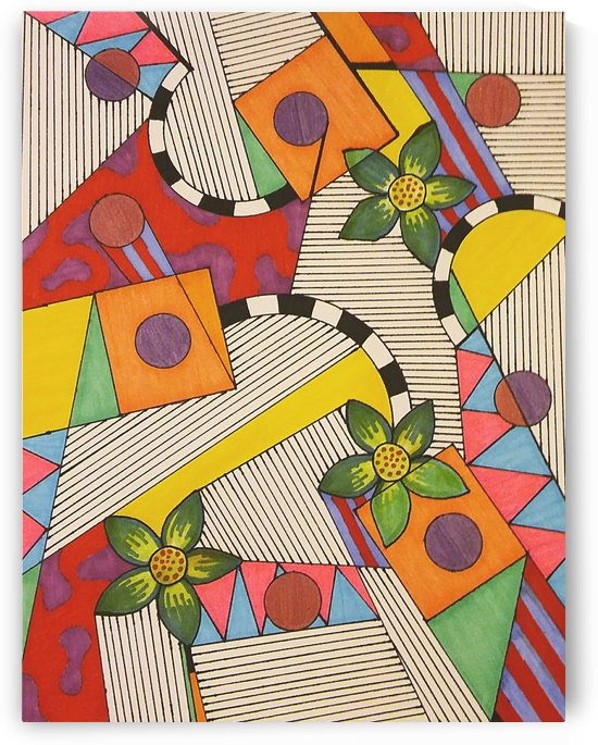 Colors Caught in Lines by SarahJo Hawes