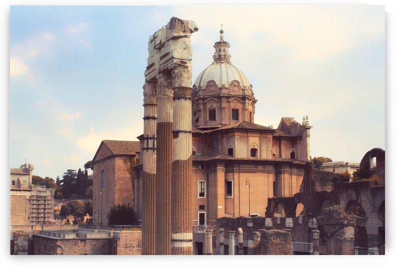 Forum Romanum by Ira Silence