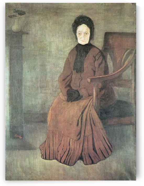 My grandmother by Joseph Rippl-Ronai by Joseph Rippl-Ronai