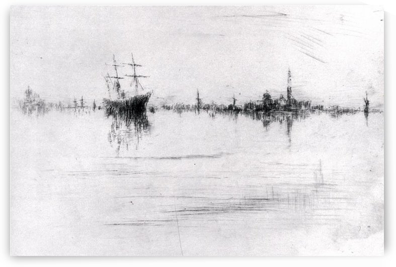 Nocturne by Whistler by Whistler