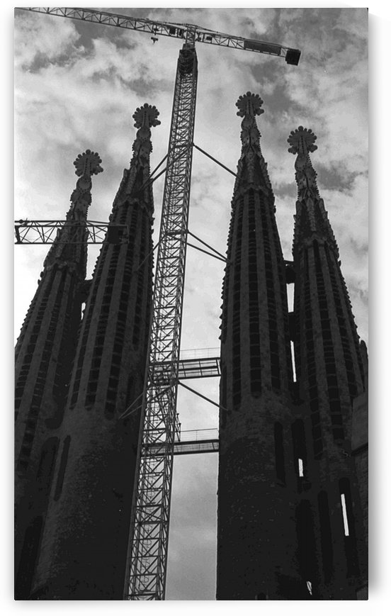 The Sagrada Familia 1 by Antonio Pappada