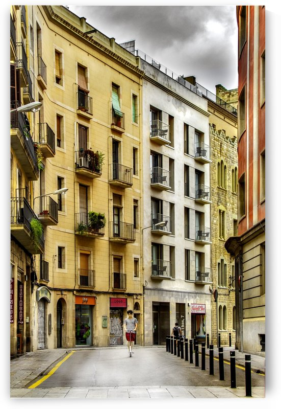 Barcelona Street by Busybee-CR Photography