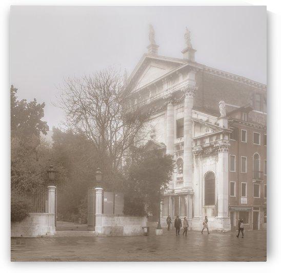 Vintage Urban Scene Venice Italy by Daniel Ferreia Leites Ciccarino