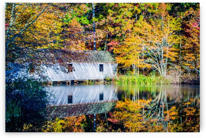 Calm Mountain Lake by Stan Reese