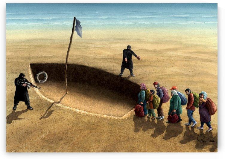 Last emigration by Krzysztof Grzondziel by Krzysztof Grzondziel