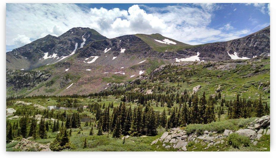 High Mountain Ponds by Matthew Ulisse