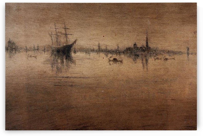 Nocturne -1- by Whistler by Whistler