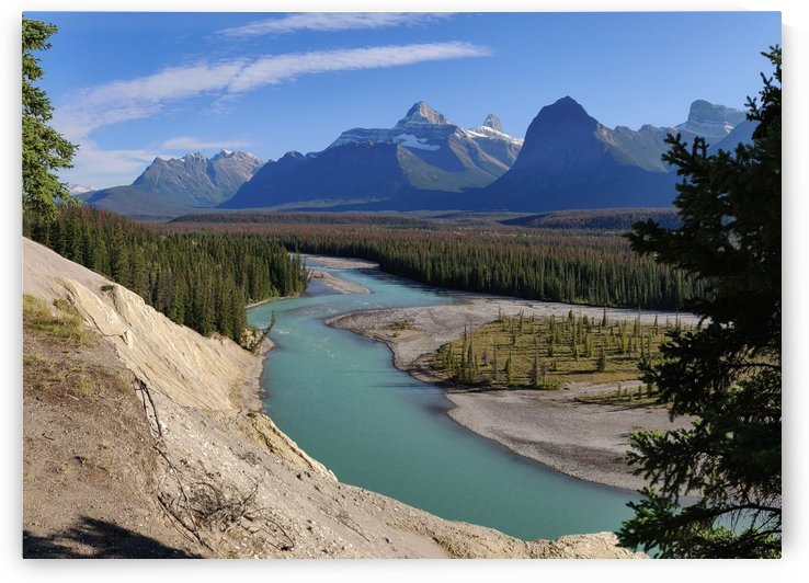 Athabasca River by romain