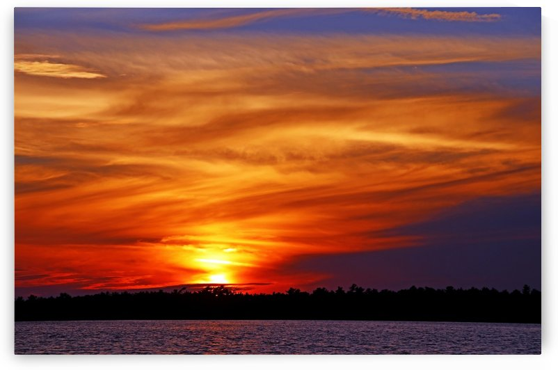 Blazing Sky by Deb Oppermann
