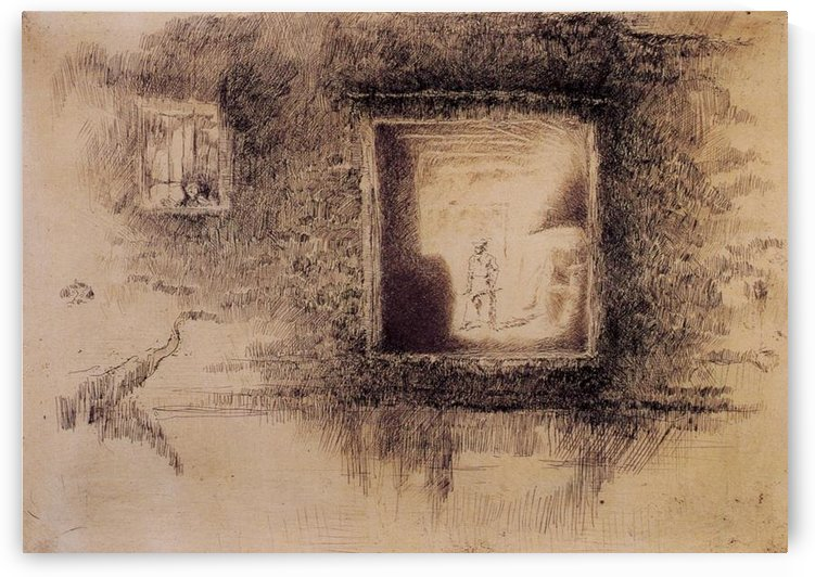 Nocturne, Furnace -2- by Whistler by Whistler