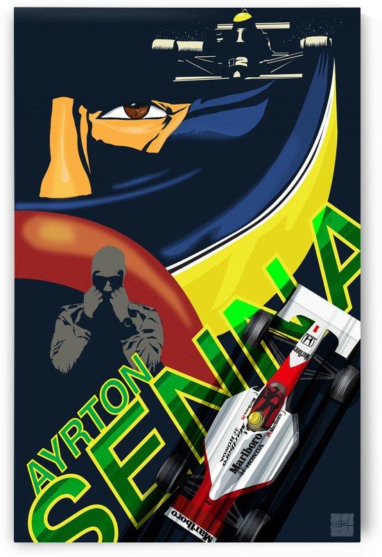 senna poster by Sassan Filsoof