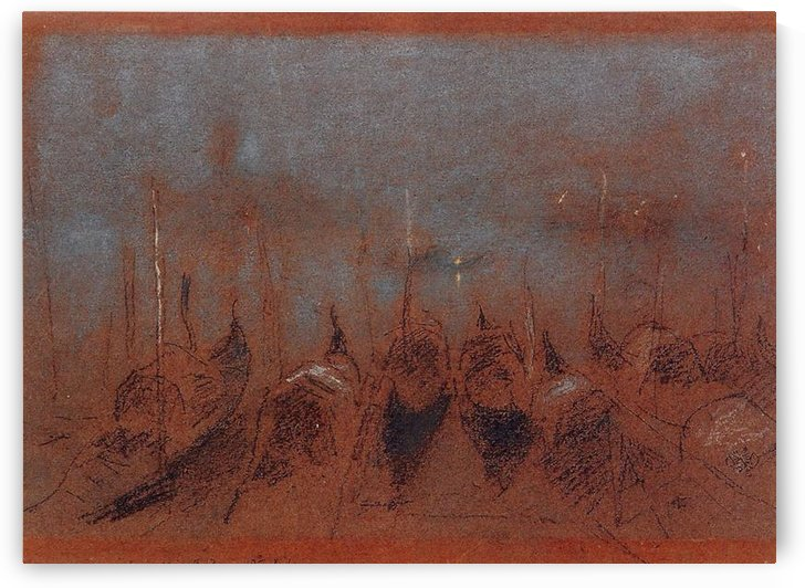 Nocturne, San Giorgio by Whistler by Whistler