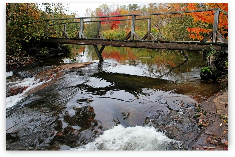 Chikanishing River Bridge I by Deb Oppermann
