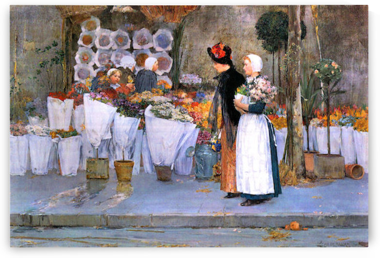 Florists by Hassam by Hassam