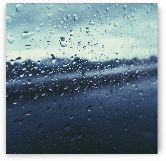 Rain drops by Karen