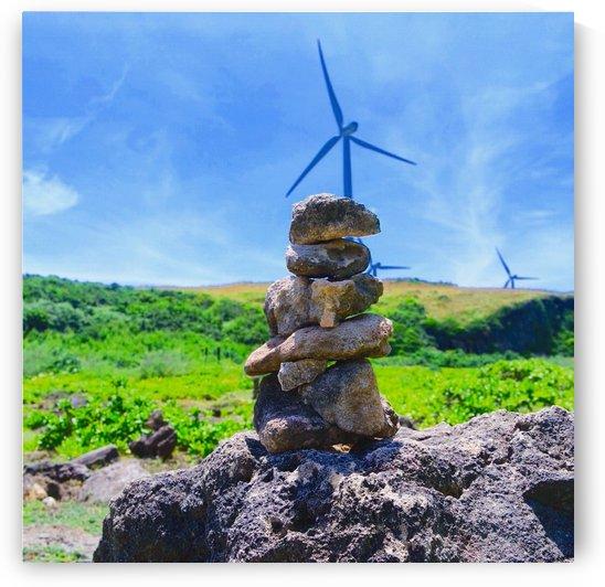 Rock balance by Karen