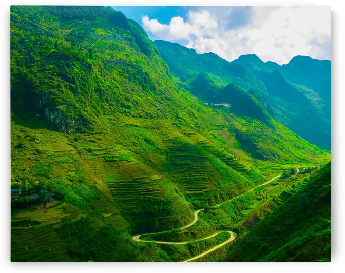 winding roads of Don Van by Asia Visions Photography