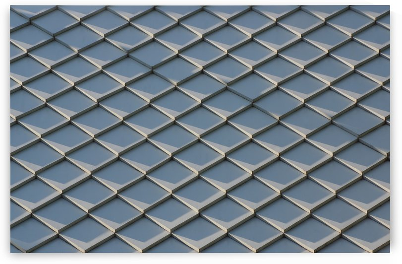 Fish scale tile roof by Krit of Studio OMG