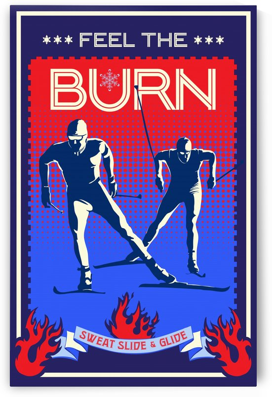 feel the burn nordic ski by Sassan Filsoof
