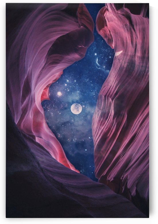 Grand Canyon with Space Collage by Art Design Works
