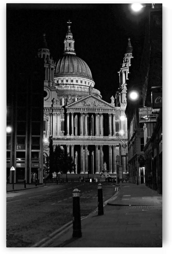St. Paul's Cathedral London by Antonio Pappada