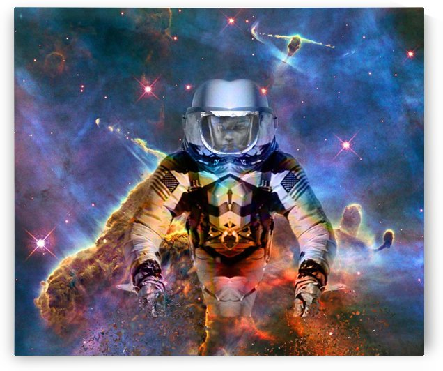 Astronaut Disintegration by Matthew Lacey