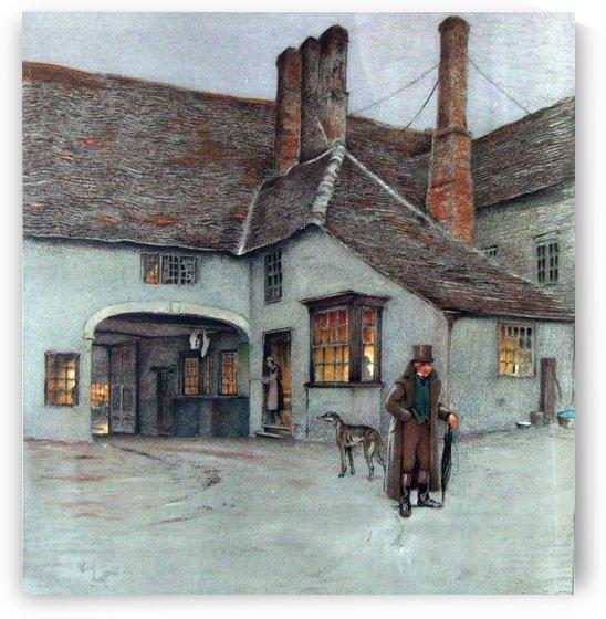 Pomfret Arms, Towcester by Cecil Aldin