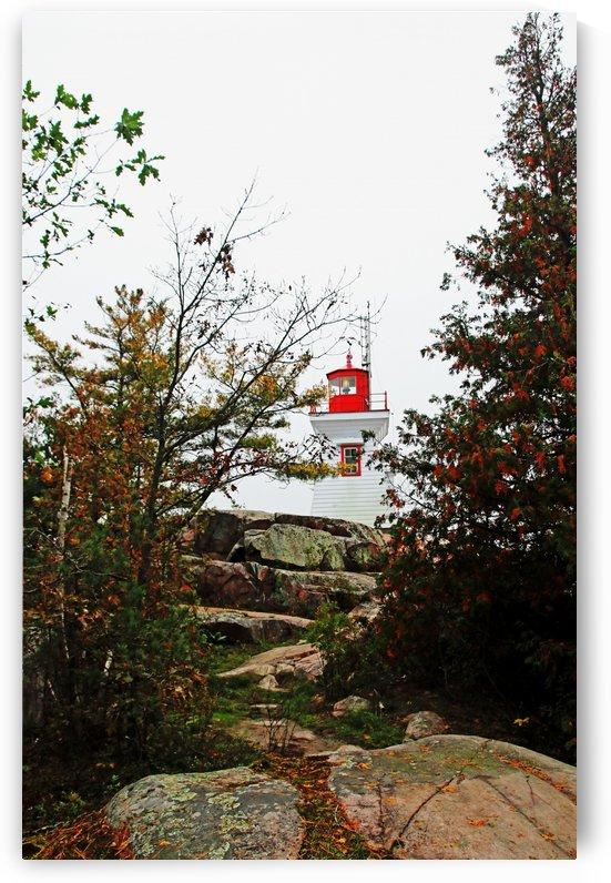 East Light House Killarney II by Deb Oppermann